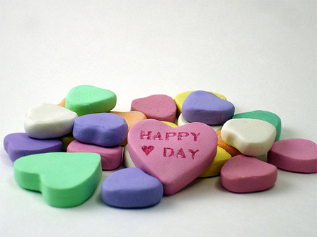 CraftyGoat's Notes: Polymer Clay Candy Hearts Tutorial