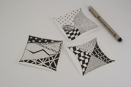 My First Zentangles, by Crafty Goat