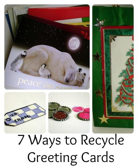 CraftyGoat's Notes: 7 ways to recycle greeting cards